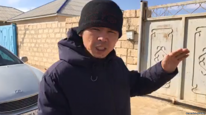 Kazakh Activist In Restive Town Arrested, Charged With Hooliganism