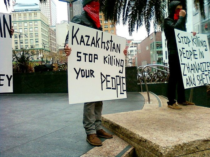 They shot to kill: eight years on from massacre of Kazakhstan's striking oil workers